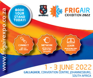 The tradeshow that delivers, FRIGAIR Expo returns in 2022. The show will run from 01 June – 03 June 2022 at Gallagher Convention Centre. Taking place every three years, FRIGAIR is the largest dedicated HEVAC&R trade exhibition in Africa and is organised in partnership with the South African Institute of Refrigeration and Air Conditioning (SAIRAC).