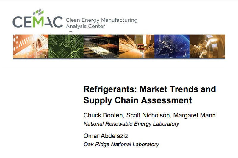 The global refrigerants market is projected to grow rapidly as developing countries in turn continue to grow, become more affluent and consume more. Photo by National Renewable Energy Laboratory   Oak Ridge National Laboratory