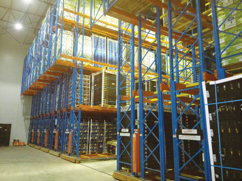 An example of a stocked fruit store. Image credit: Barpro Storage