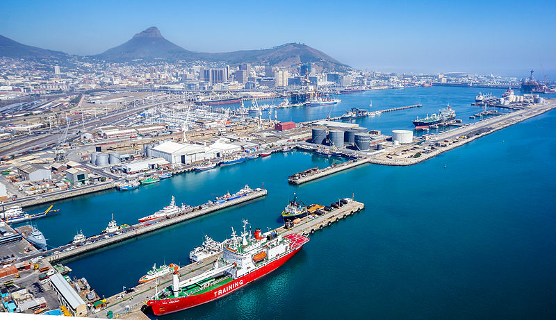 SA perishables hit again with further delays as ports authority becomes latest victim of cyber threat. Photo by SkyPixels on Wikimedia