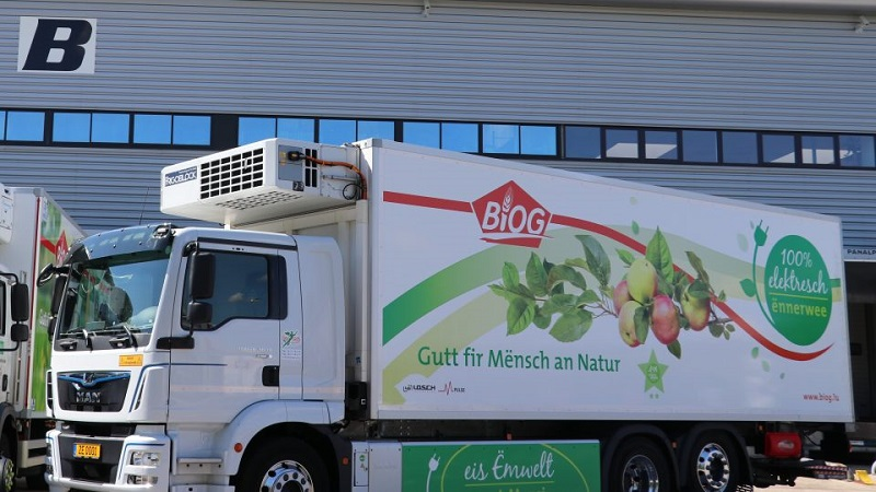 SA fruit industry promoting jobs and vaccinations. Image credit: Thermo King Europe