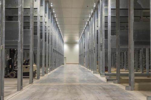 The steri-rooms have a 2 500 pallet capacity. Photo by © Precool Cold Storage