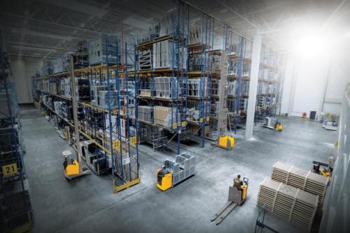 Materials handling solutions come in a very wide array of options specific to facility needs. Photo by Jungheinrich South Africa